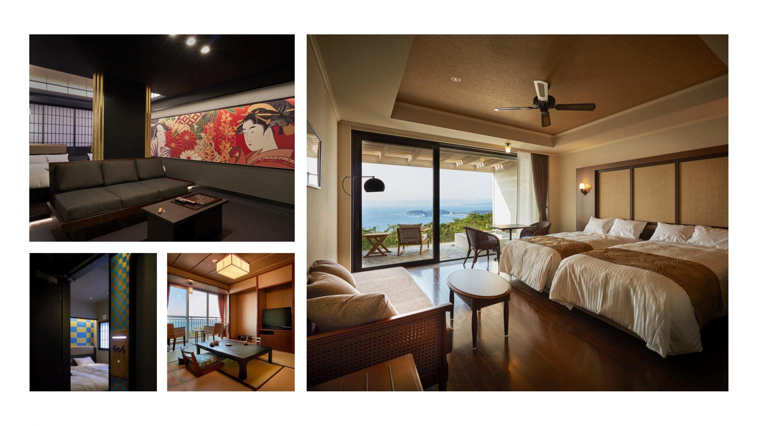 客室の内装と広さを最適化